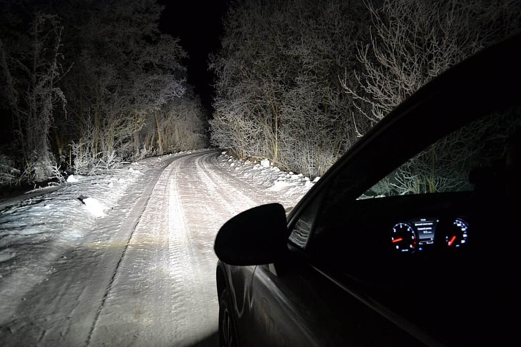 особенности вождения автомобиля ночью